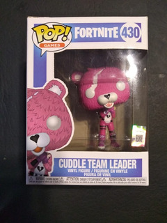Funko Pop Osita Fortnite Cuddle Team Leader 430 Como Nuevo