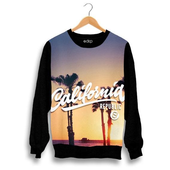 Blusa Dep California Republic Por Do Sol Original