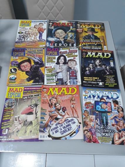 Revista Mad: Lote Com 24 Edições
