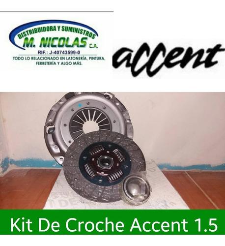 Kit Embrague Croche Accent 1.3 1.5 Excel 1.3 1.5 Getz 1.3