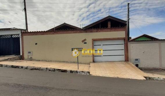 Casa Com 3 Dormitórios À Venda, 187 M² Por R$ 360.000,00 - Parque Das Árvores - Paulínia/sp - Ca0405