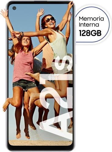 Imagen 1 de 8 de Celular Libre A21s Blanco 6,5  128 Gb Samsung