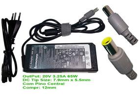 Carregador Notebook Lenovo Ibm 20v Plug Grosso - Ib1510