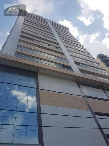 Apartamento Com 3 Dormitórios À Venda, 137 M² Por R$ 900.000,00 - Vila Guilhermina - Praia Grande/sp - Ap2225