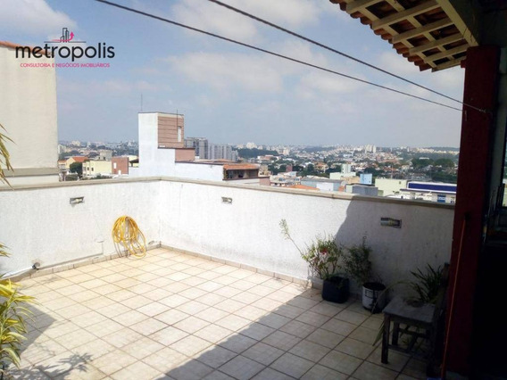 Cobertura Residencial À Venda, Osvaldo Cruz, São Caetano Do Sul. - Co0092