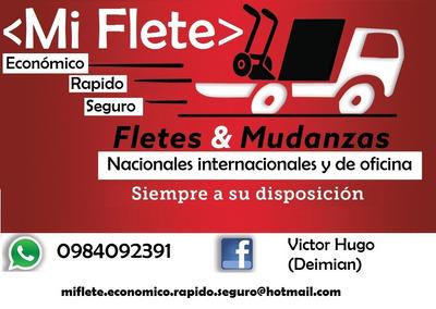 Fletes,mudanzas,logística,envíos Quito-guayaquil-sto.damingo