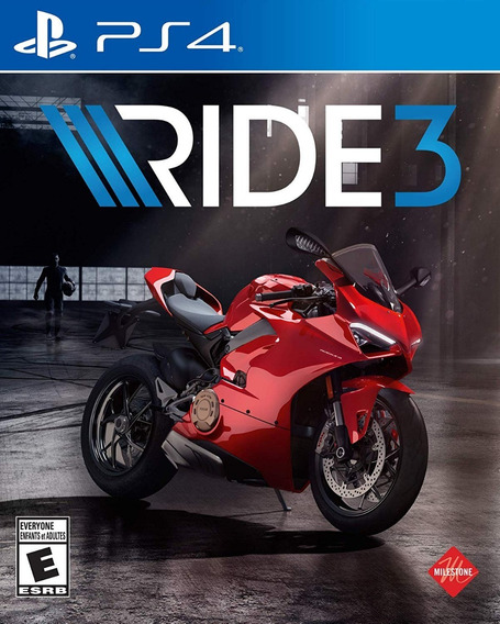 Mídia Física Ride 3 Ps4 - Lacrado + Envio Mesmo Dia Só Aqui!