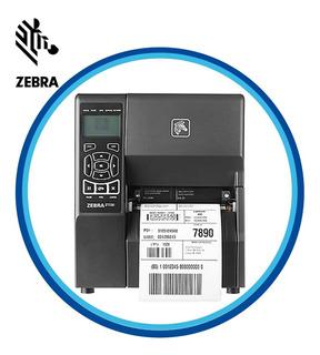 Impresora Zebra Zt230 Industrial Usb, Serial + Ribbon