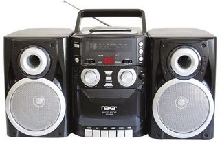 Naxa Electronics Reproductor Cd Portátil + Am/fm Stereo Radi
