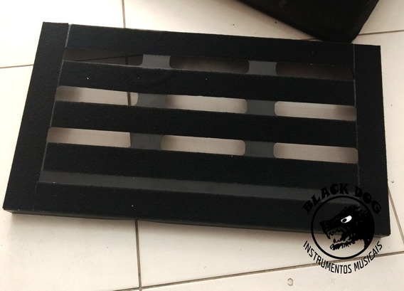 Case Pedalboard Para Pedais Purple Case Alumínio - 65x35