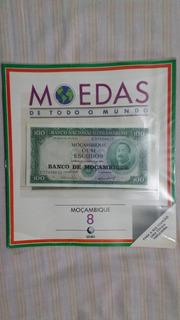 Fascículo Moedas De Todo O Mundo Moçambique - 8