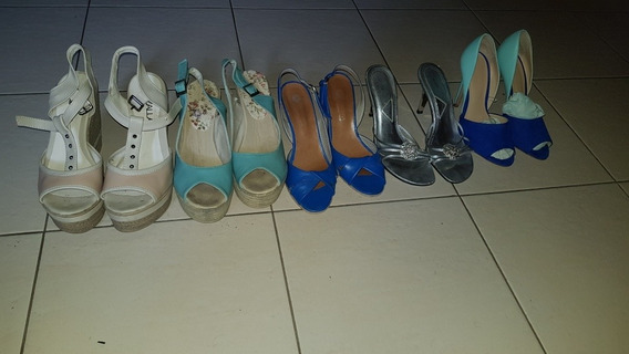 5 Pares De Zapatos Mujer [talle 38]