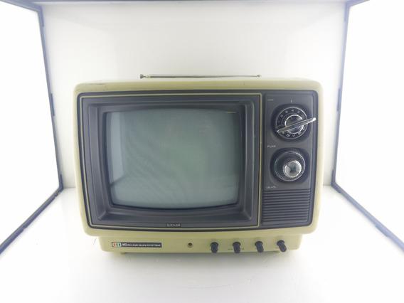 Tv Semp Toshiba 1979 . A 1° Tv A Cores Do Brasil 10