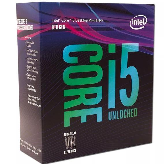 Micro Procesador Intel Core I5 8600k 4.3ghz Coffeelake Games