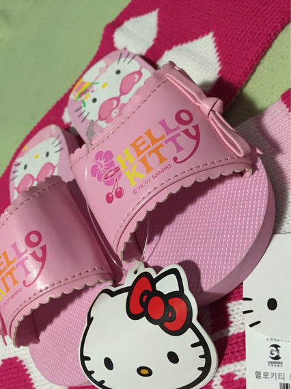 Sandalias Ojotas Hello Kitty