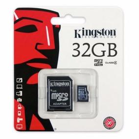 Cartão Memória Micro Sd 32gb Classe 4 Leitor Usb Kingston
