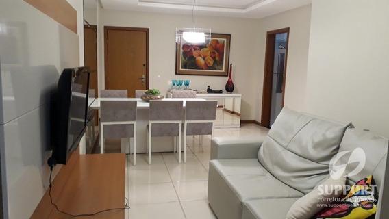 Apartamento De 02 Quartos Praia Da Morro - V-1929