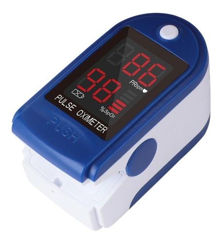 Imagen 1 de 8 de Oximetro Saturometro De Pulso Medico Anmat