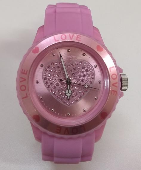 Relógio Condor Kw45100hh Rosa Lindo De Vltrine