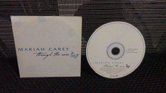 Mariah Carey Throught The Rain Promo Cd Single Espanhol