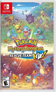..:: Pokemon Mystery Dungeon Rescue Team Dx ::.. Para Switch