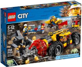 60186 - Lego® City - Perfuradora Pesada De Mineração