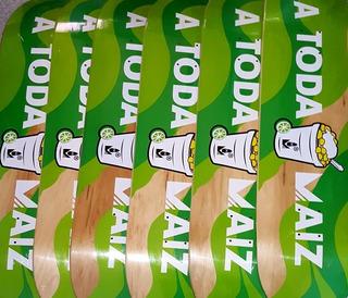 Tabla Para Skateboard Marca Mazorka A Toda Maiz