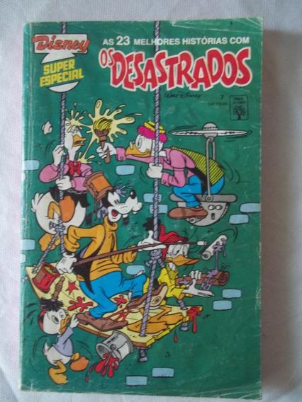 Gibi Disney Super Especial Nº 7 Os Desastrados Janeiro 1991