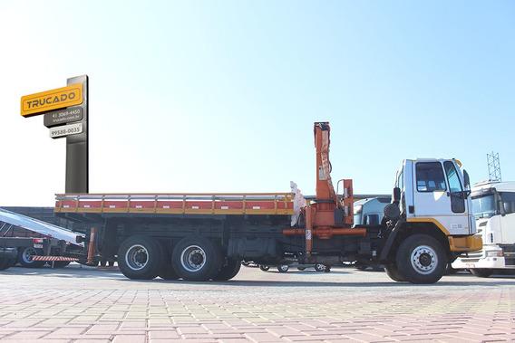 Caminhão Cargo 2622 6x4 2003 Munck Argo 40.5 = Manque Muqui