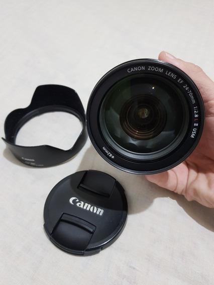 Lente Canon 24 70 F2.8 Série Ii Super Nova!