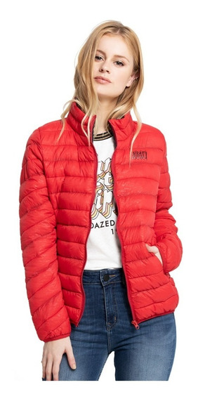 Campera Mujer Rusty Highway Red