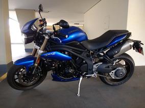 Triumph Speed Triple 1050 - 2014 - Azul