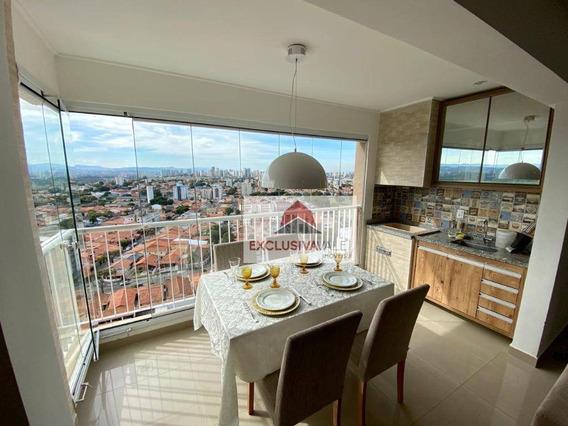 Apartamento Com 2 Dormitórios À Venda, 75 M² Por R$ 470.000,00 - Jardim Das Indústrias - São José Dos Campos/sp - Ap2679