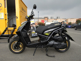 Yamaha Bws X Negra, Con Casco Icon