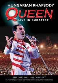 Dvd Queen Hungarian Rhapsody Budapest 86 Restaurado P Cinema