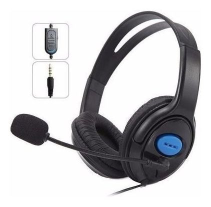 Fone De Ouvido Com Microfone Para Ps4 Kp-352 Knup