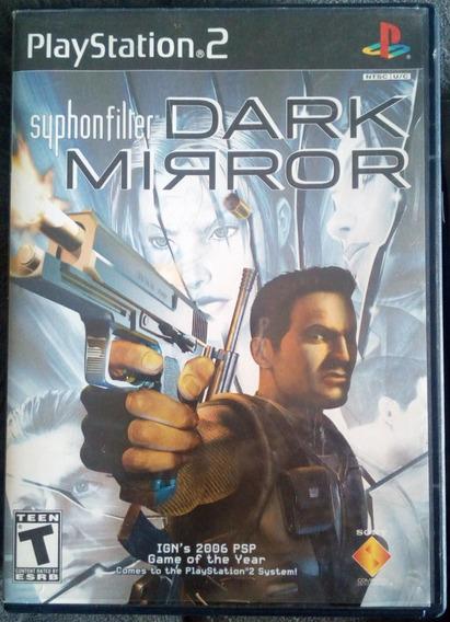 Só Capa Estojo Manual Panflet Syphon Filter Dark Mirror Ps 2