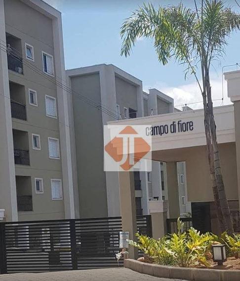 Apartamento Com 2 Dormitórios Para Alugar, 63 M² Por R$ 1.800,00/mês - Condomínio Campo Di Fiore - Vinhedo/sp - Ap0185