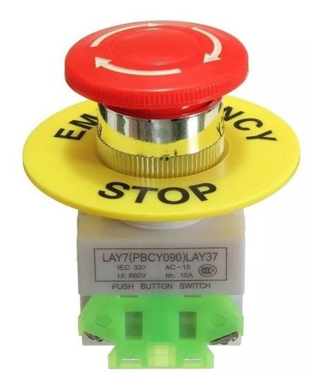 Botão Stop Emergência