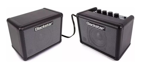 Kit Amplificador Blackstar Fly Bass 3w Combo + Caixa!