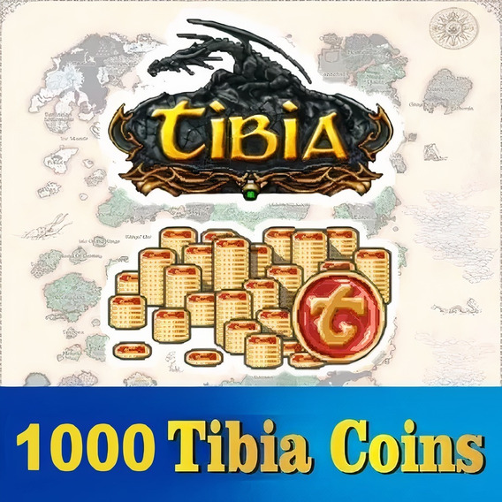 Tibia Coins (1000 Tc) Transferível (todos Os Servidores)
