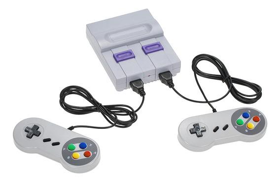 Consola De Juegos Nes De 8 Bits Trae 500 Juegos
