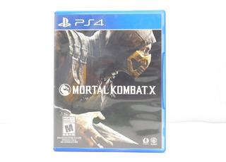 Mortal Kombat X - Ps4 ¡fisico-usado!