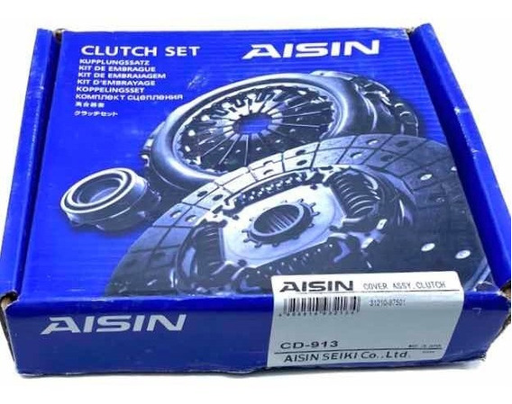 Kit Clutch Embrague Croche Terios 1.3 4x2 Aisin 2002 - 2007