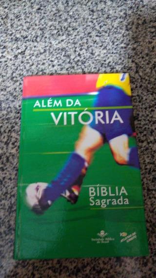 Q - Biblia Sagrada Atletas De Cristo Dvd Além Da Vitória Aut