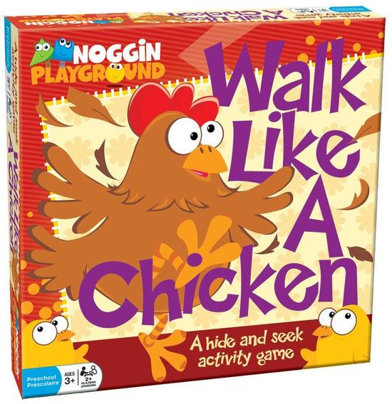 17801 Outset Juego De Mesa: Walk Like A Chicken