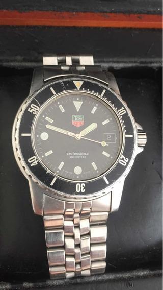 Relógio Tag Heuer Wb1210dd Original 200 Mts Com Caixa