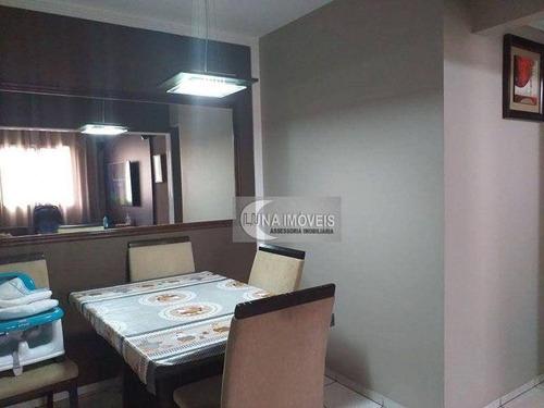 Imagem 1 de 19 de Apartamento Com 2 Dormitórios À Venda, 58 M² Por R$ 235.000,00 - Assunção - São Bernardo Do Campo/sp - Ap3197