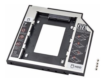 Adaptador Caddy 9,5mm Mac Ultrabook 9.5mm Ou 12.7mm Bc