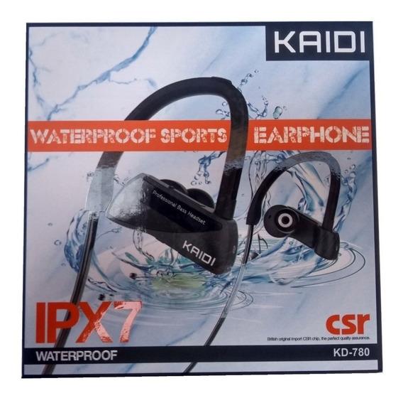 Fone Ouvido Bluetooth Kaidi Sports Resistente À Água Ipx7